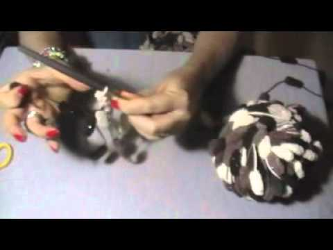 Bufanda/Collar de bolitas (TUTORIAL)
