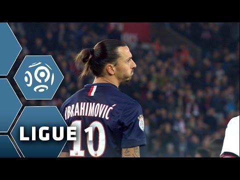 Zlatan Ibrahimovic tout proche d'un but exceptionnel 15ème journée de Ligue 1 / 2014-15