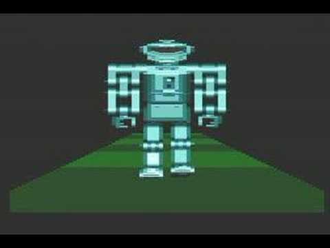 Walking Robot Demo Atari 800xl