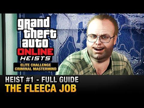 GTA Online Heist #1 - The Fleeca Job (Elite Challenge & Criminal Mastermind)