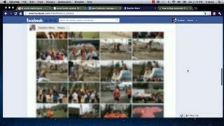 How to View Every Picture a Person Is Tagged in on Facebook : Facebook Tutorials