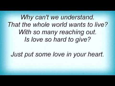 Lionel Richie - Just Put Some Love In Your Heart