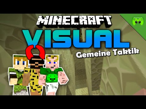 MINECRAFT Adventure Map # 15 - Visual Projekt 2 «» Let's Play Minecraft Together   HD
