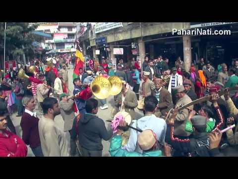 Pahari Nati, Last Day  International Shivratri 2012, Mandi (h.p.) #1 video