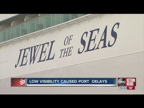 Early morning delays at Port of Tampa