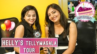 Helly Shah BIRTHDAY SPECIAL | Guest Editor at Telly Masala Office | Exclusive