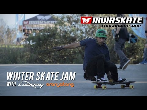 Winter Skate Jam 2015 with Loaded and Orangatang | MuirSkate Longboard Shop