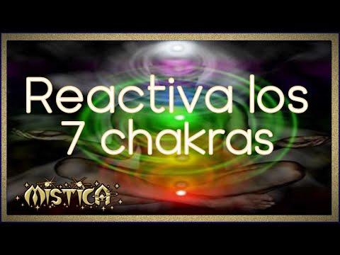 Reactiva los 7 Chakras. Concentración.