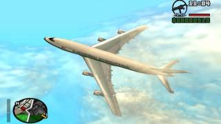GTA San Andreas Boeing 747-200 Evergreen International Airlines