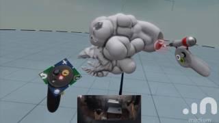 Oculus Rift - 3D Modeling in VR with Medium