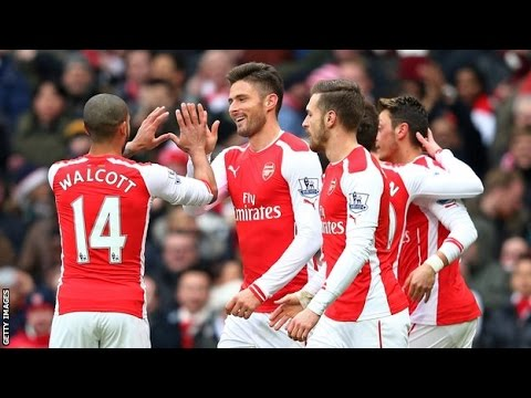 Arsenal 5-0 Aston Villa: Breaking News