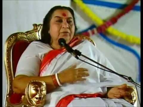 Self Realization Hindi (Kundalini Sahaja Yoga) Shri Mataji Vancouver 1999 (Hindu Temple) Atma Yoga