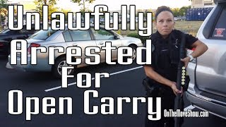 Open Carry: Veteran Unlawfully Disarmed, Detained & Arrested | OnTheMoveShow