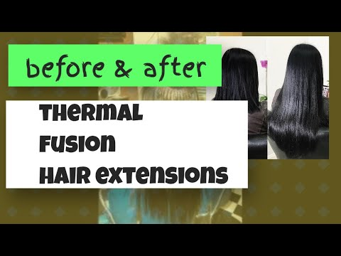 fusion hair extensions youtube