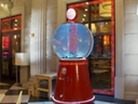 Tanked reveal gumball machine tank youtube for Atm fish tank