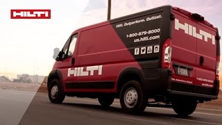EXPERIENCE the Hilti difference