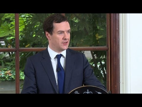 Osborne makes first public comments since UK vote to leave EU