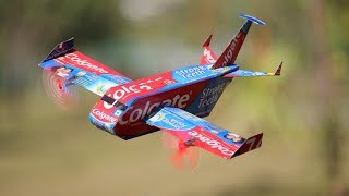 How to make a airplane - Colgate Aeroplane