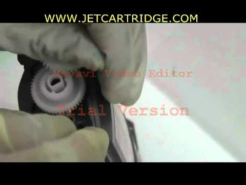 how to reset toner CARTRIDGE refilling   brother PRINTER 7055/ 2055