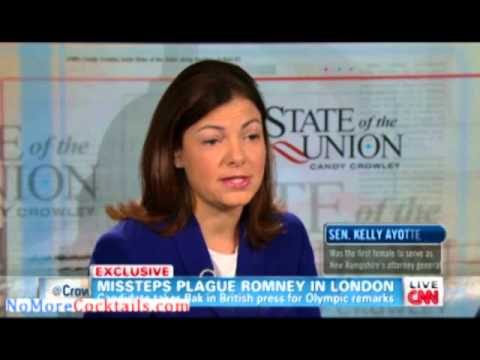 Sen Kelly Ayotte on State of the Union; We need someone to clean up Barack Obama's mess