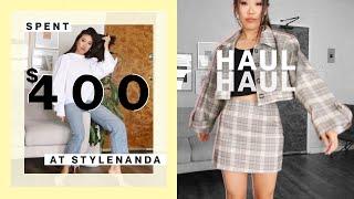 Spent $400 at Stylenanda | Korean Fashion Haul