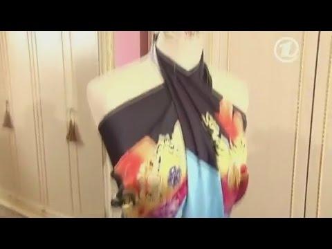 Платье трансформер | Пять платьев из одного платка без шитья