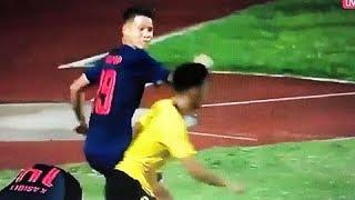 Người Thái ví màn hỗn chiến của cầu thủ U15 nước nhà như một sự xấu hổ