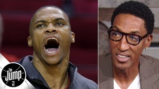 Scottie Pippen totally buys Russell Westbrook's comments about taking a back seat | The Jump