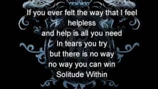 Watch Evergrey Solitude Within video