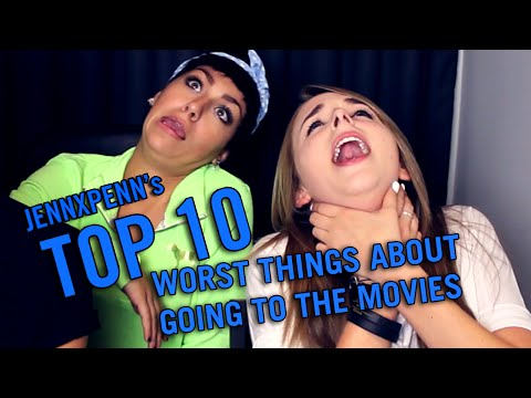 Jennxpenn's Top 10 Worst Things About Going to the Movies ft. Andrea Russett and Thatsojack