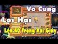 Làng Lá Phiêu Lưu Ký - Lên LV 40 Trong Vài Giây Với Xích Linh Chi!! thumbnail