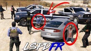 GTA 5 LSPDFR #190 POLICÍA DE ZACATECAS - AGARRAMOS A TR4F1C4NT35 | TheAxelGamer
