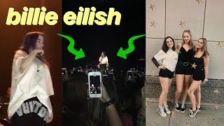grwm for the best day ever | BILLIE EILISH concert vlog