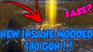 Scammer Gets Scammed *BRAND NEW* 180 Modded Gun!!!  Fortnite Save The World PVE