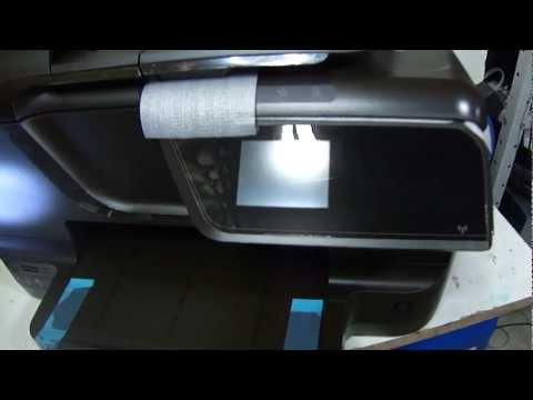 Bulk Ink HP 8600 8100 - Remoção e sangria da Cabeça.