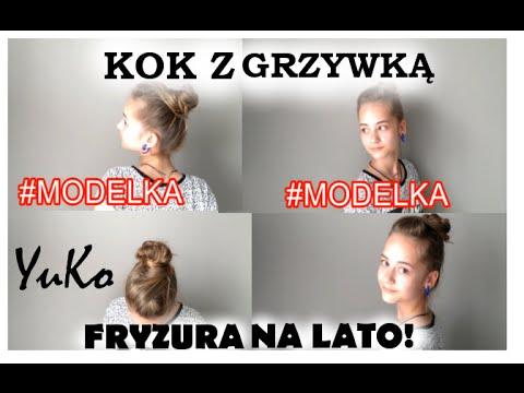 FRYZURA NA LATO! ( Hairstyle For The Summer) #MODELKA/ YuKo