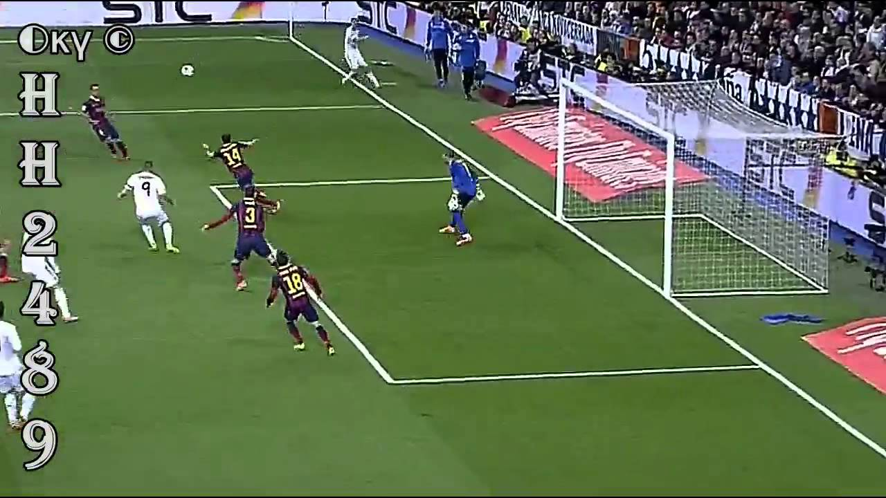 Real Madrid vs Barcelona 3 4
