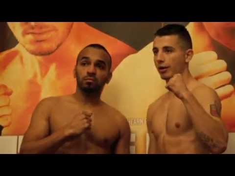 CHARLIE PAYTON v IBRAH RIYAZ - OFFICIAL WEIGH IN FROM HULL / POINT OF NO RETURN