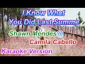 I Know What You Did Last Summer Shawn Mendes Camila Cabello Karaoke Version mp3