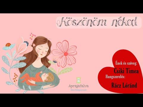 Anyák napi dal - Köszönöm néked #ertekpercek