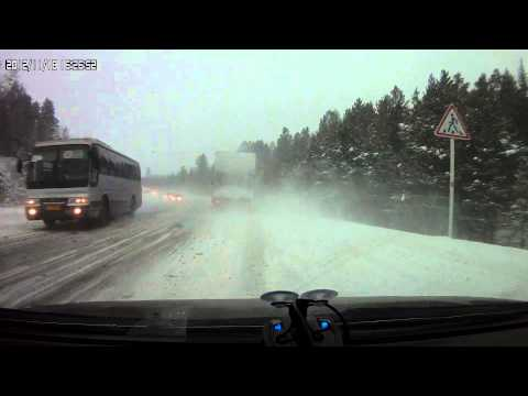 ДТП на трассе Красноярск-Енисейск 149 км
