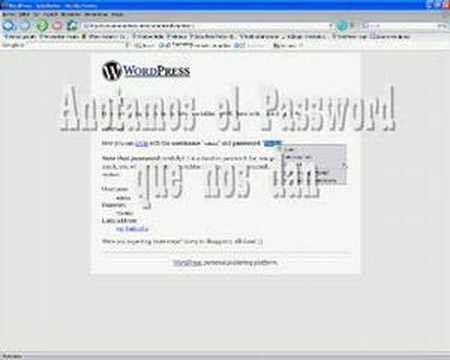 Thumb Video tutorial de como instalar WordPress en Español