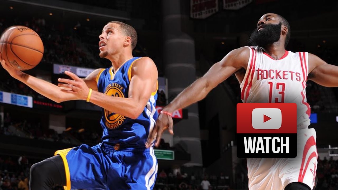 Stephen Curry Full Highlights at Rockets (2014.11.08) - 34 Pts, 10 Reb ...