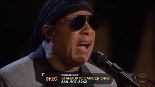 """Stevie Wonder sings """"What the World Needs Now"""" Live at Stand Up 2 Cancer 2018.  HD 1080p"""