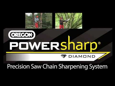 PowerSharp Sharpens On The Saw. On The Job. In Seconds.