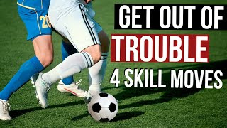 Soccer Moves To Use In A Game To Get Out Of Trouble