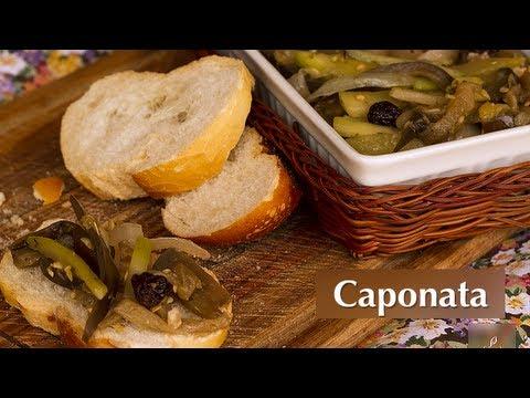 Receita de Caponata (Vegan)
