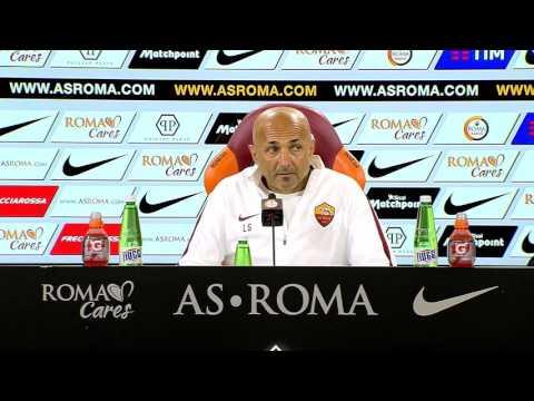 """La conferenza di Spalletti: """"Non sono qui per rivalità, ma per i risultati"""""""
