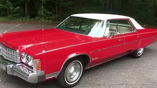 1974 Chrysler Newport Custom - Walk Around - Custom Ordered 1 of 1?