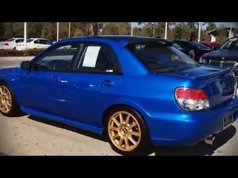 2006 Subaru Impreza Wrx Wrx Sti 2 5 Wrx Sti W Gold Wheels